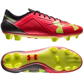 Under Armour Spotlight FG '16 (Rocket Red/High-Vis Yellow)