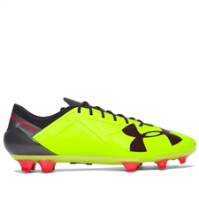Under Armour Spotlight FG (High-Vis Yellow/Rocket Red) | 1272298-731