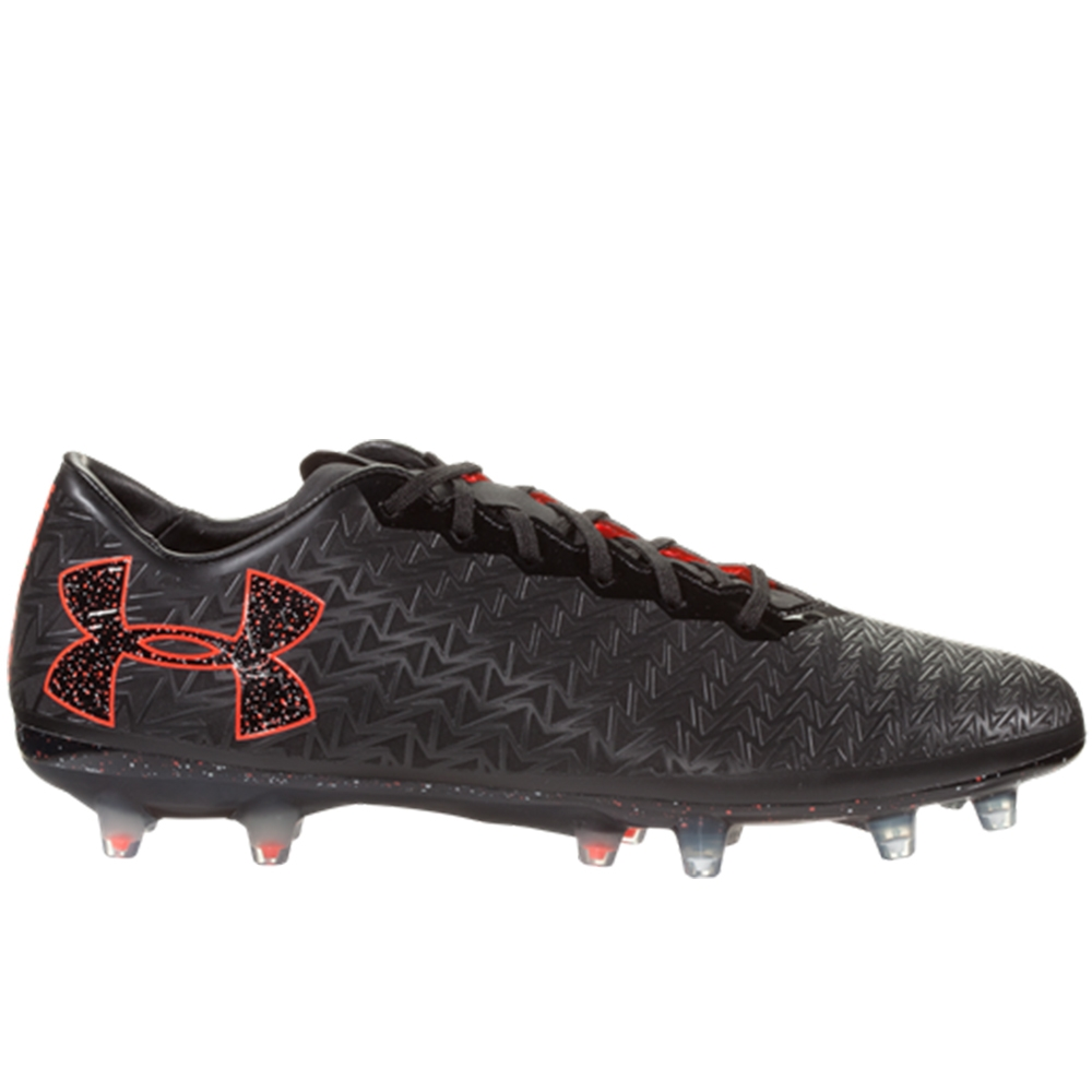 san francisco 52954 8c9bb real under armour clutchfit force 3.0 fg soccer cleats black white 8bebb  4e34a