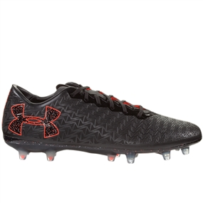 Under Armour ClutchFit Force 3.0 FG Soccer Cleats (Black/White)