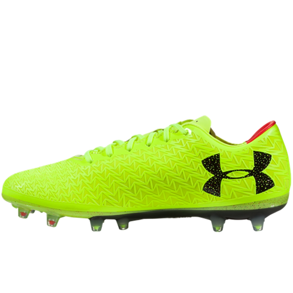 014fc37f1 Under Armour ClutchFit Force 3.0 FG Soccer Cleats (High Vis Yellow ...