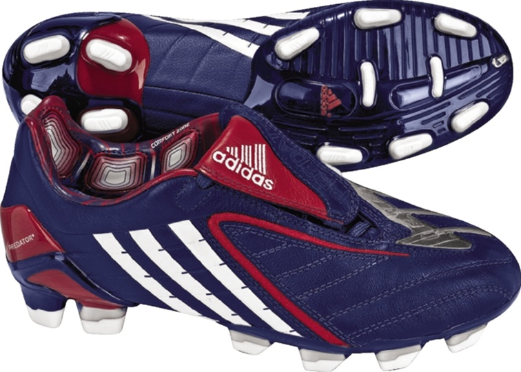99.99 - Adidas Women s +Predator PowerSwerve TRX FG (Navy White Red ... 2ccb355cc