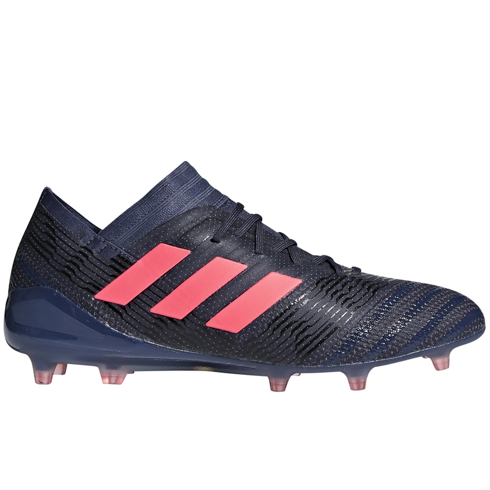 242921566b3 Adidas Women s Nemeziz 17.1 FG Soccer Cleats (Trace Blue Red Zest ...