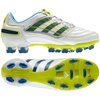 Adidas Women's Predator X FG Soccer Cleats (Running White Metallic/Lone Blue/Acid Buzz)