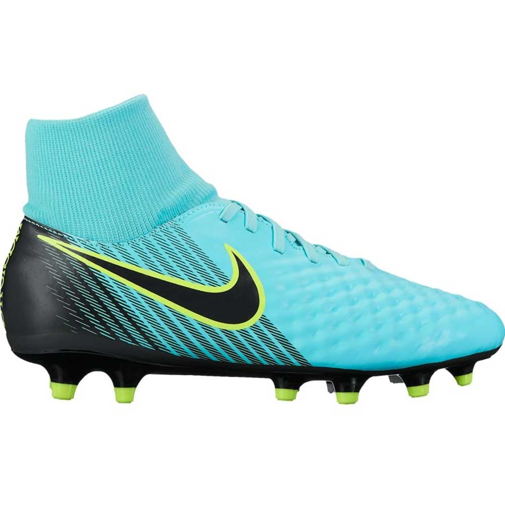 Nike Women's Magista Onda II FG Soccer Cleats (Light Aqua/Black/Igloo/