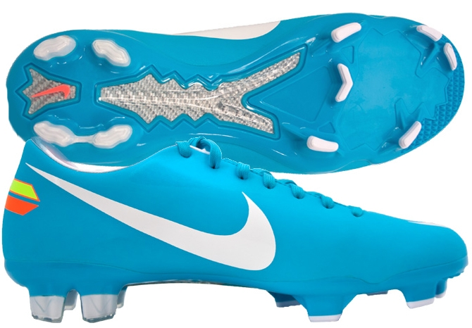 Womens Soccer Cleats - SALE  53.95 - Nike Mercurial Glide III in Turquoise  Blue a2ed7297b00c