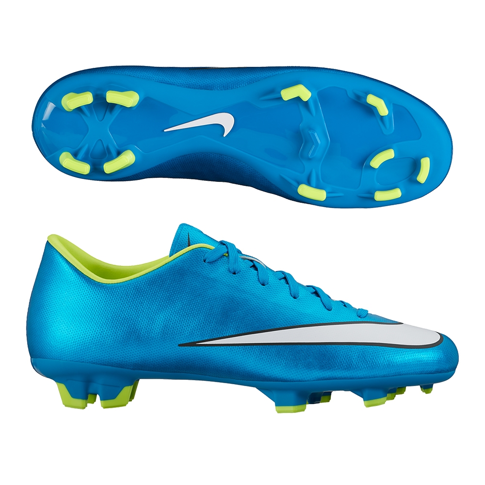 most popular half price new lower prices Nike Women's Mercurial Victory V FG Soccer Cleats (Blue Lagoon)