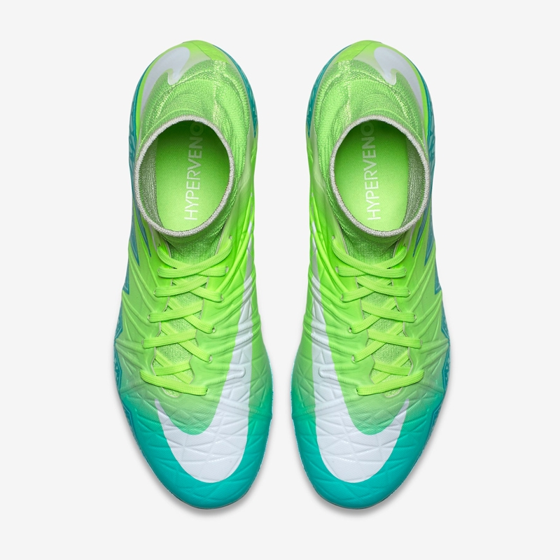 b80339646 Nike Women s Hypervenom Phantom II FG Soccer Cleats (Rage Green Ghost ...