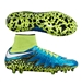 Nike Women's Hypervenom Phantom II FG Soccer Cleats (Blue Lagoon/Volt/White)