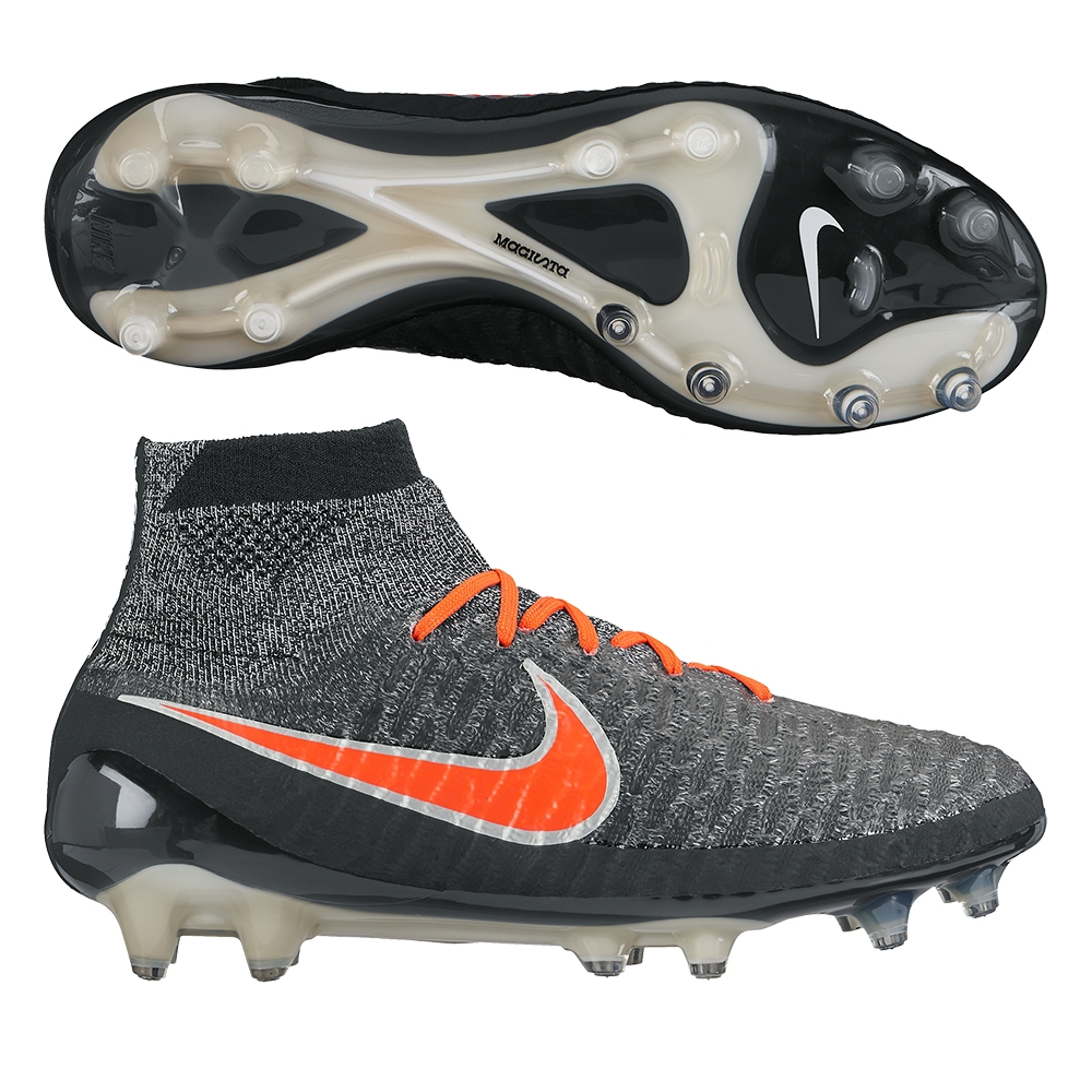 Magista Obra FG Soccer Cleats (Black White Dark Grey Bright Crimson ... 39148296f