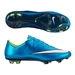Nike Women's Mercurial Vapor X FG Soccer Cleats (Blue Lagoon/White/Volt/Black)