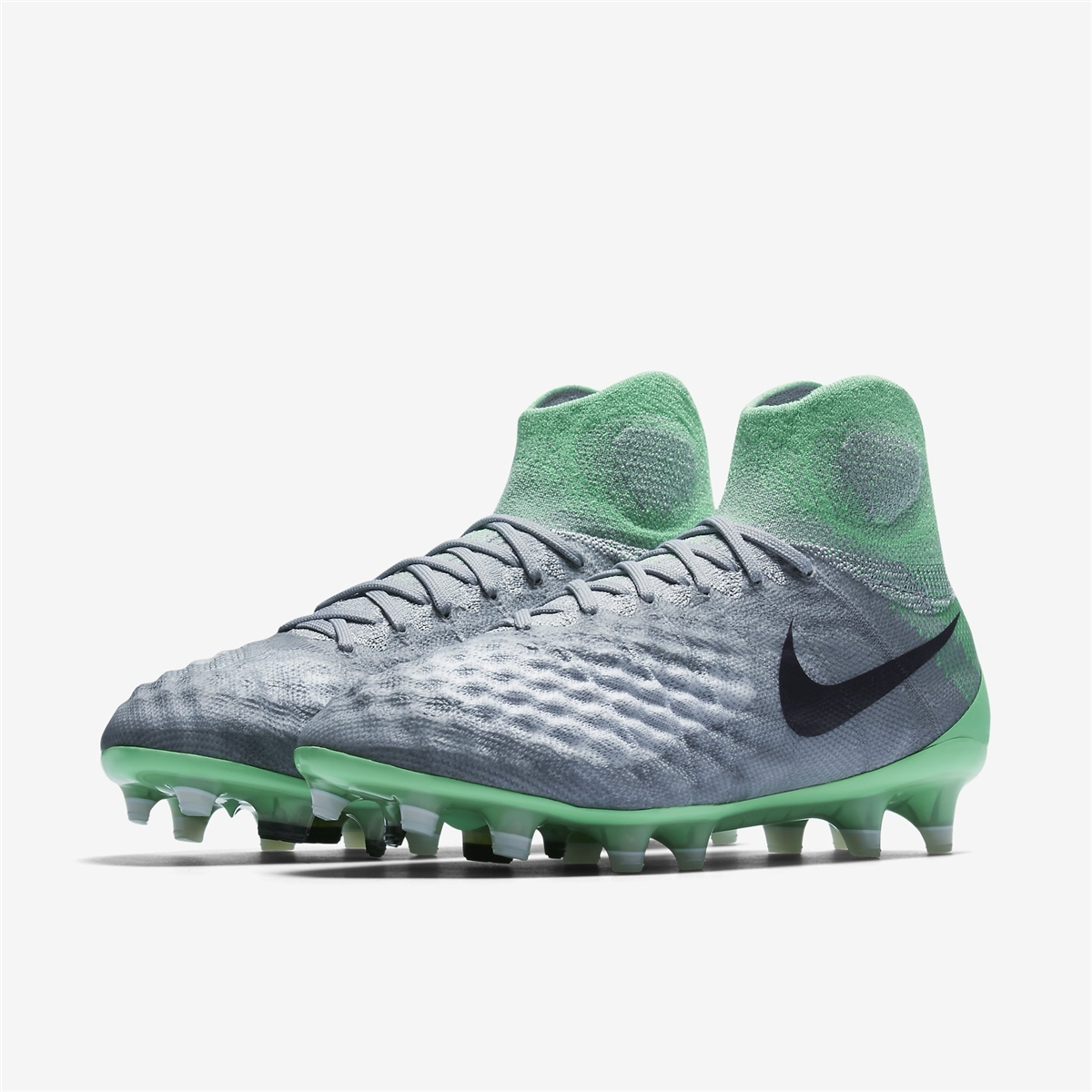 d24b7f629b1 Nike Women s Magista Obra II FG Soccer Cleats (Wolf Grey Purple ...