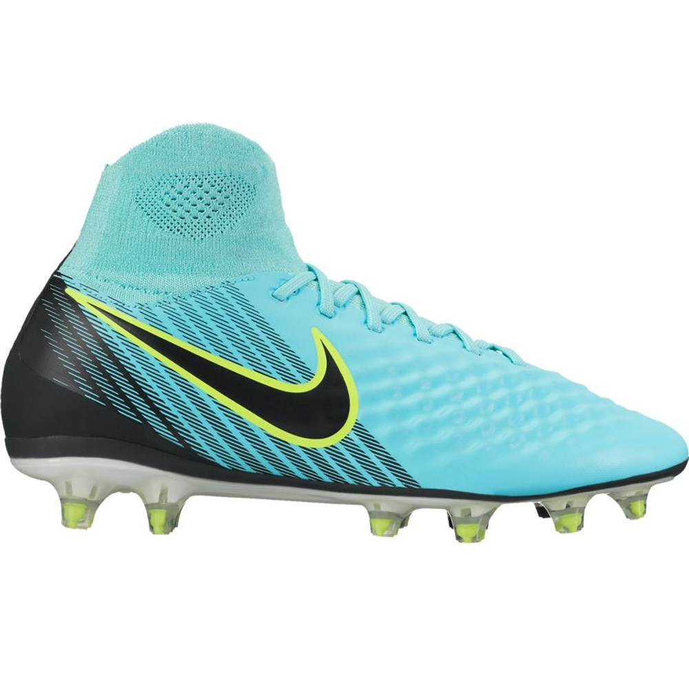 Nike Women s Magista Orden II FG Soccer Cleats (Light Aqua Black ... 67a6ca130