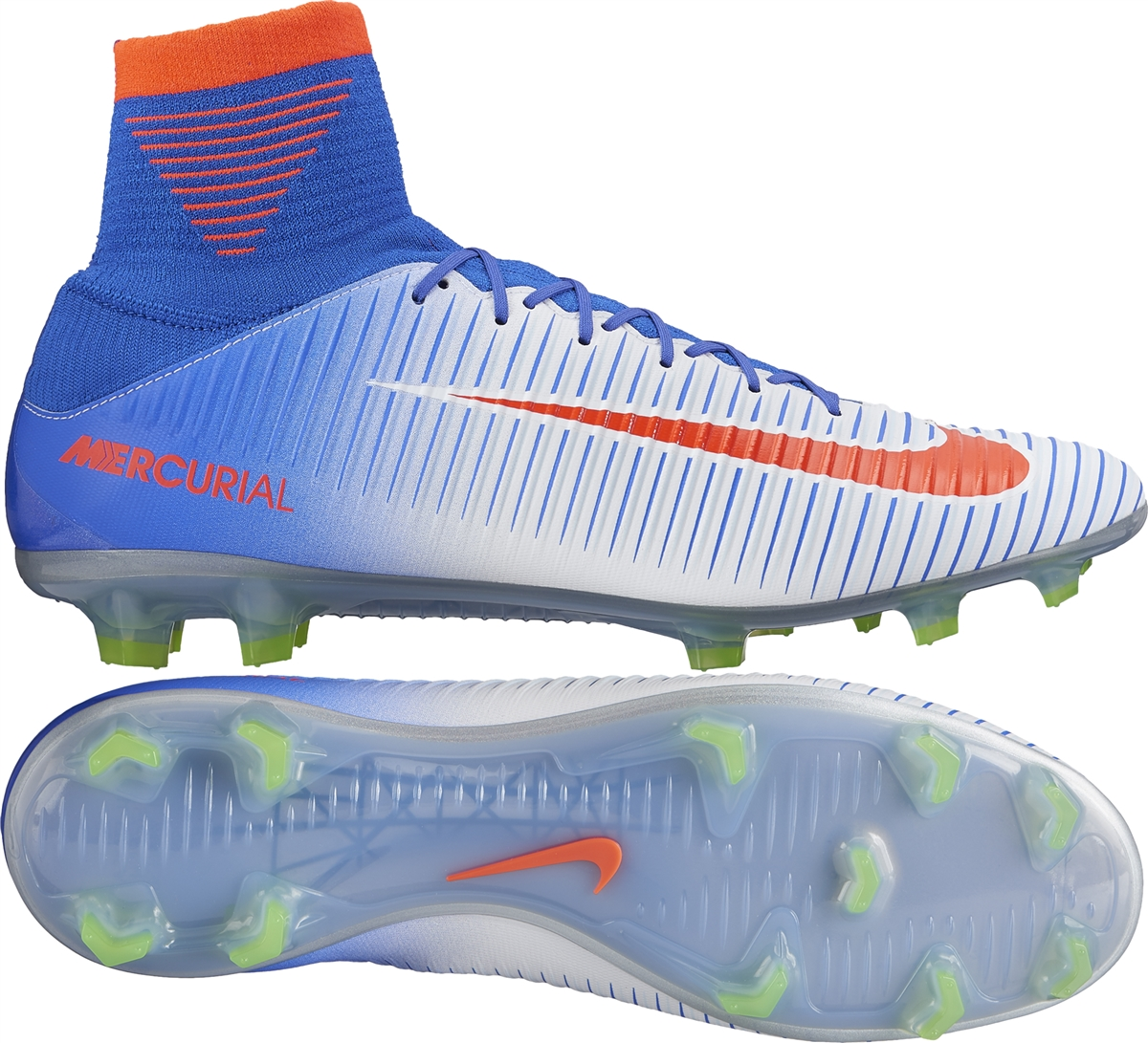 bbad9fdc8b57 Nike Women s Mercurial Veloce III FG Soccer Cleats (White Bright ...