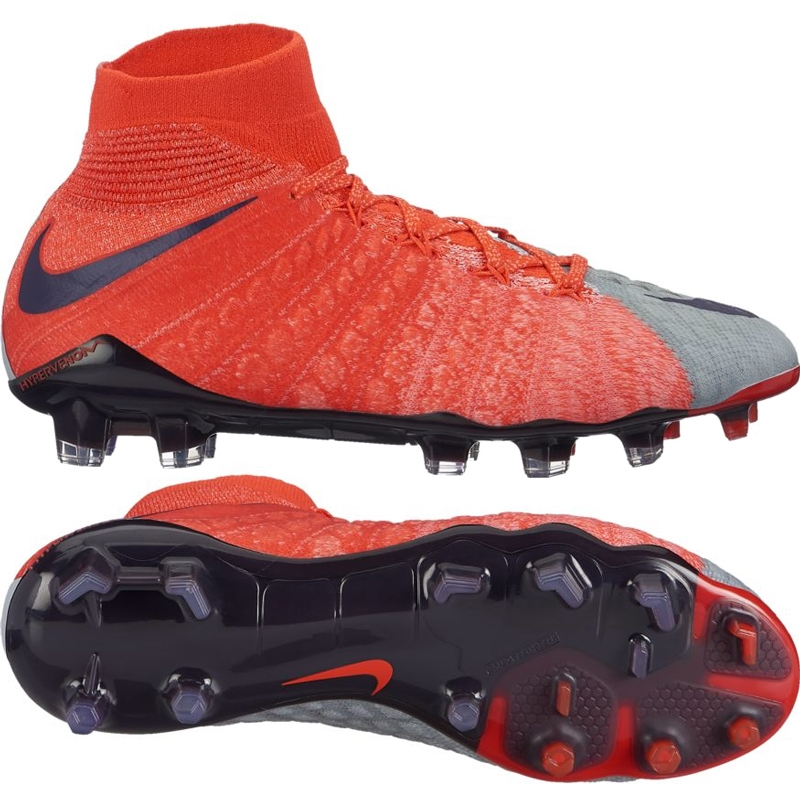 da41aa6be54a Nike Women s Hypervenom Phantom III DF FG Soccer Cleats (Wolf Grey ...