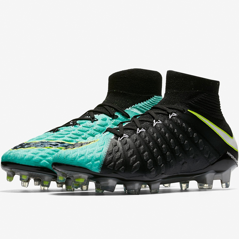 Nike Women s Hypervenom Phantom III DF FG Soccer Cleats (Light Aqua ... 9669d4947e73