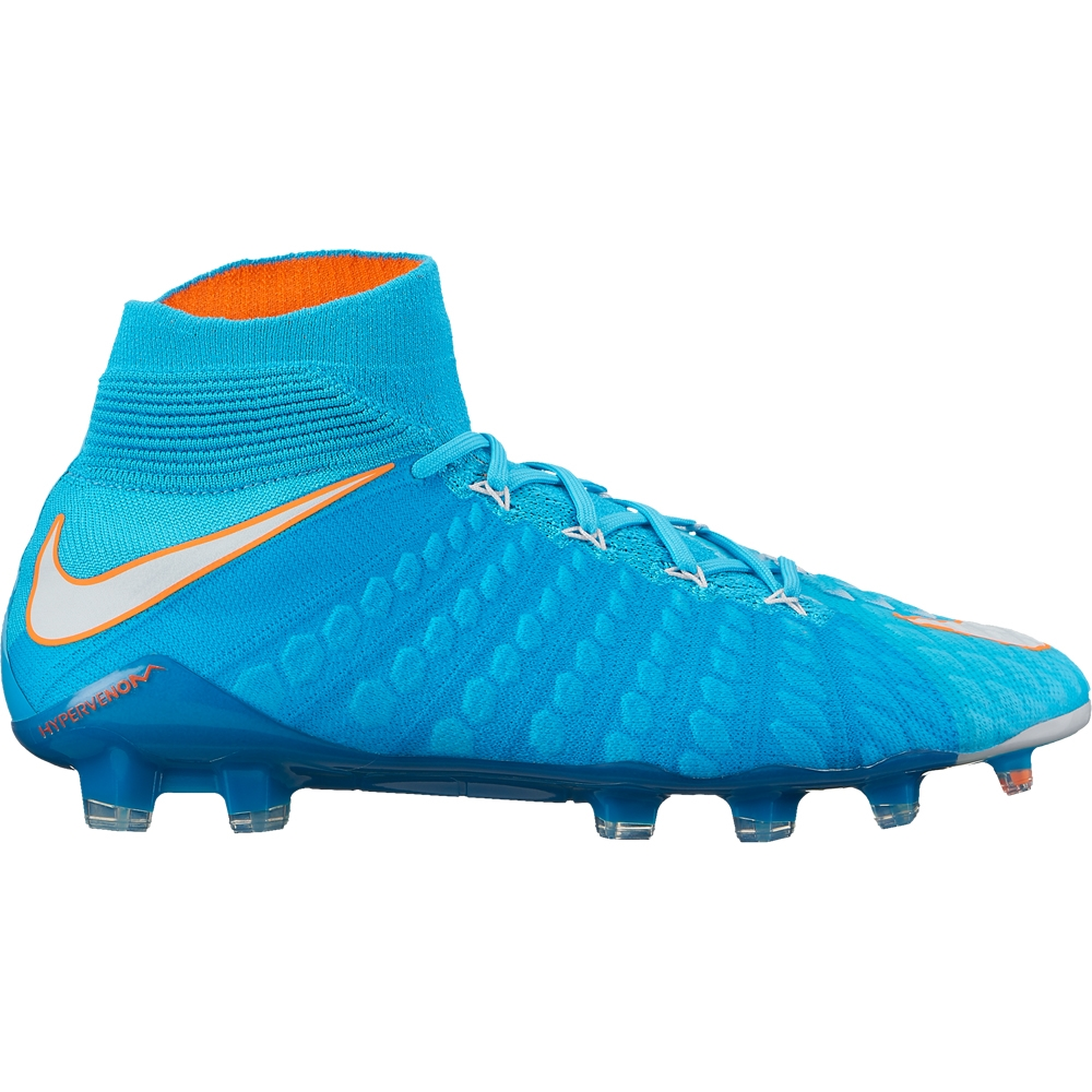 Nike Women s Hypervenom Phantom III DF FG Soccer Cleats (Polarized ... 9d3a778def