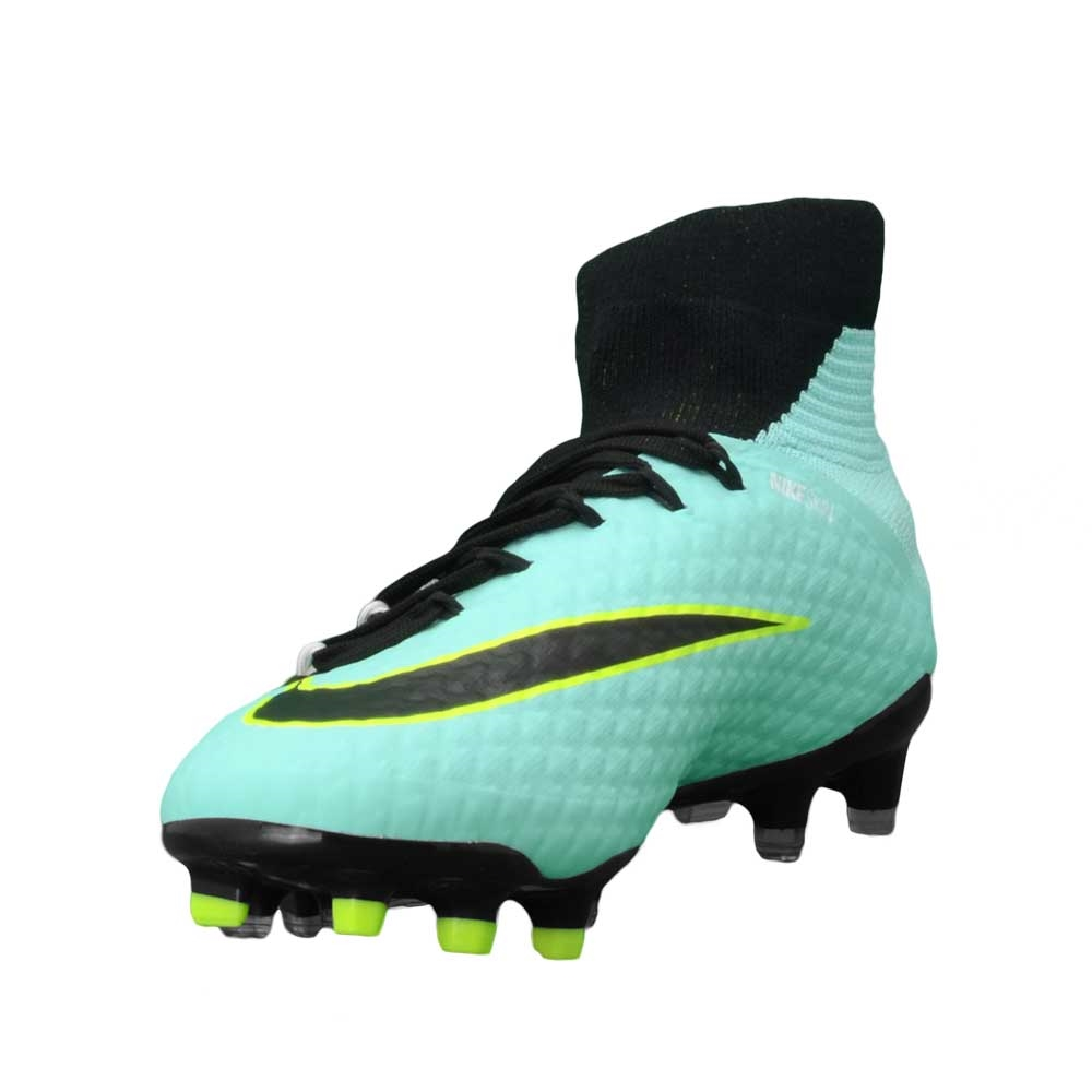 Nike Women s Hypervenom Phatal III DF FG Soccer Cleats (Light Aqua ... 3d100258e7