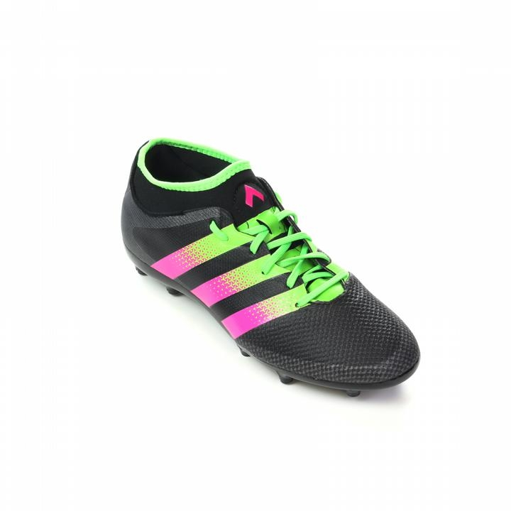 new style c9937 18676 Adidas ACE 16.3 Primemesh Youth FG AG Soccer Cleats (Black Shock ...