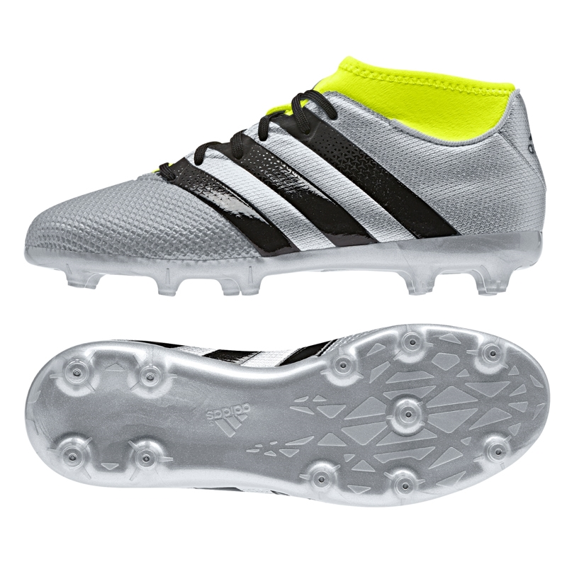 6bdb35c56185 ... free shipping adidas ace 16.3 primemesh youth fg ag soccer cleats silver  metallic core black solar