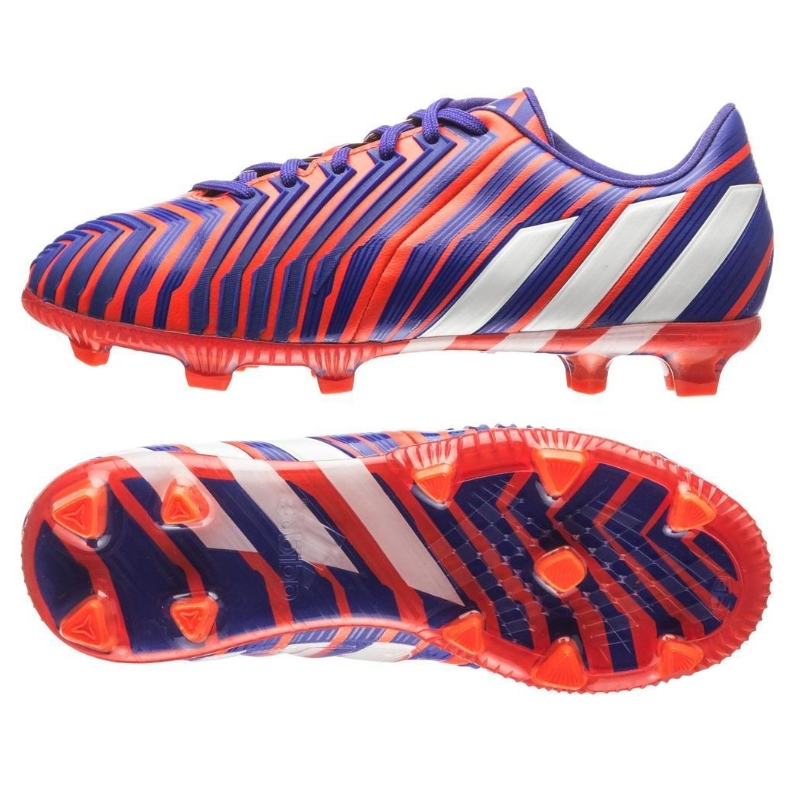 ... Adidas Predator Instinct FG Youth Soccer Cleats (Solar Red/White/Night  Flash)