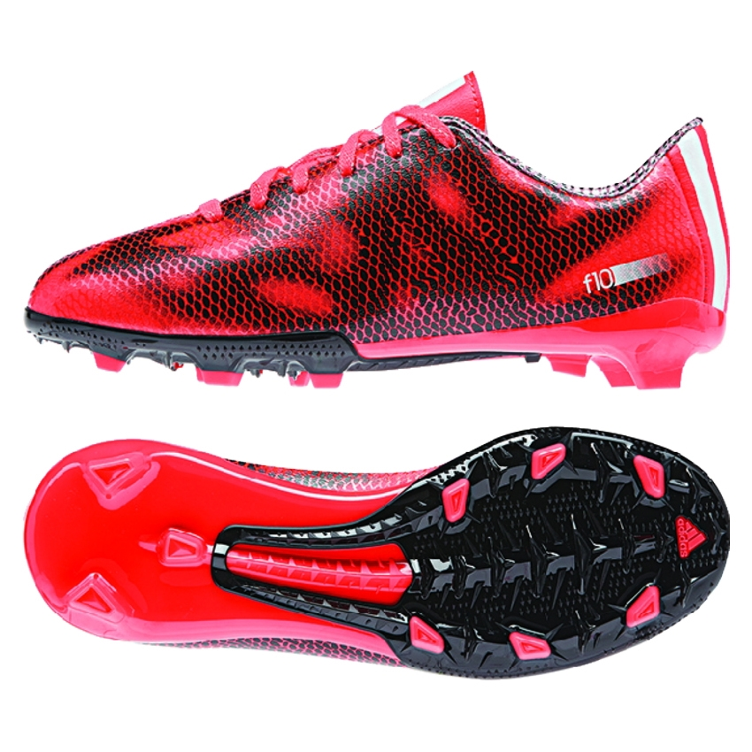 adidas Men's F10 IN Soccer Shoes - Red/Black Solar Red/White/Black E79a6341