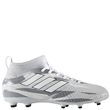 Adidas ACE 17.3 Primemesh Youth FG Soccer Cleats (Clear Grey/White/Core Black) | Adidas Soccer Cleats |FREE SHIPPING| Adidas BB1026 |  SOCCERCORNER.COM