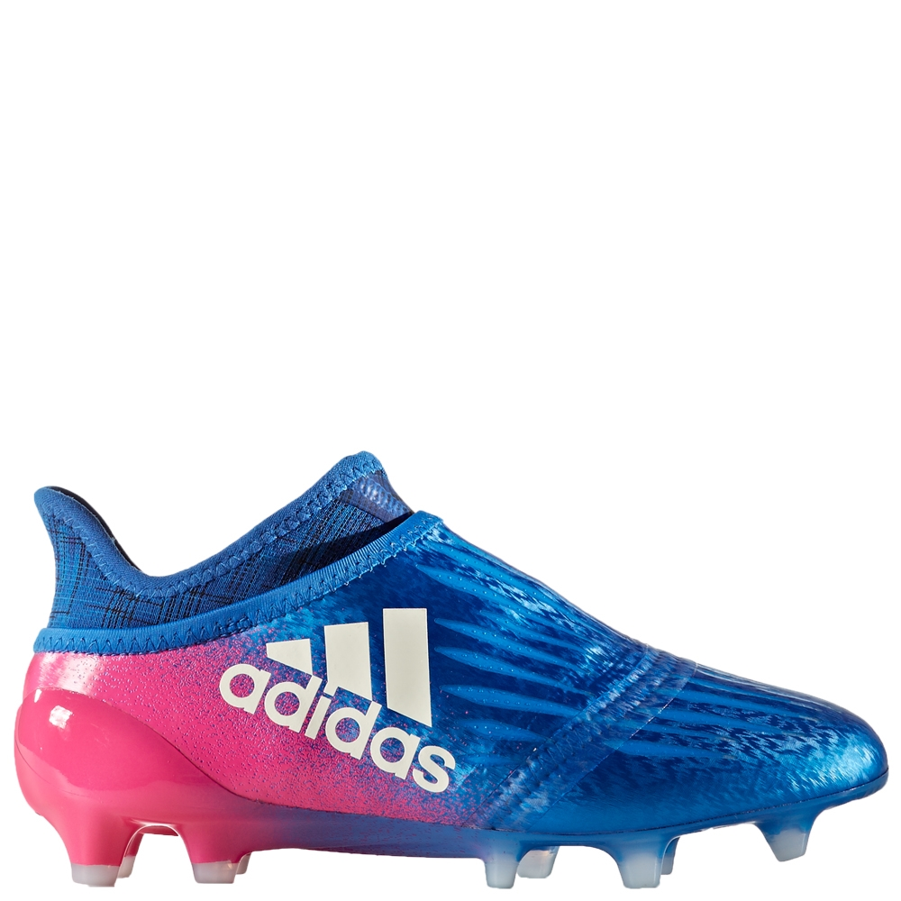fe81c3014e7 Adidas X 16+ Purechaos Youth FG Soccer Cleats (Blue White Shock Pink ...