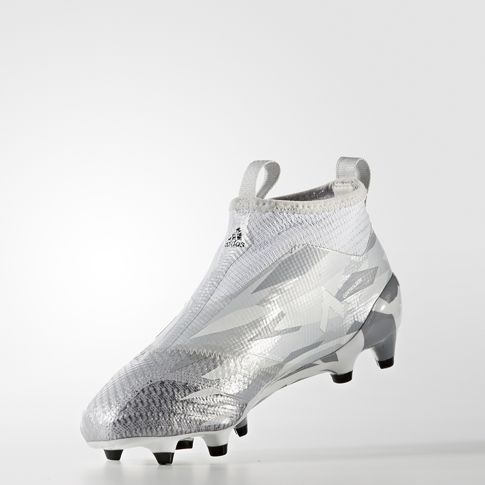 33a939974aa2a ... closeout adidas ace 17 purecontrol youth fg soccer cleats clear grey  white 3ff57 4e0ac