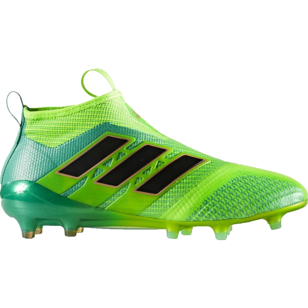 the best attitude c48a4 03b84 Adidas ACE 17+ Purecontrol Youth FG Soccer Cleats (Solar GreenCore Black