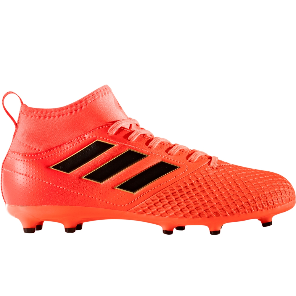 buy popular 3a837 72d1b Adidas ACE 17.3 Primemesh Youth FG Soccer Cleats (Solar Orange Core  Black Solar