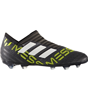 Adidas Nemeziz Messi 17+ 360Agility Youth FG Soccer Cleats (Core Black/White/Solar Yellow) |  Adidas Soccer Cleats |FREE SHIPPING| Adidas CG2961 |  SOCCERCORNER.COM