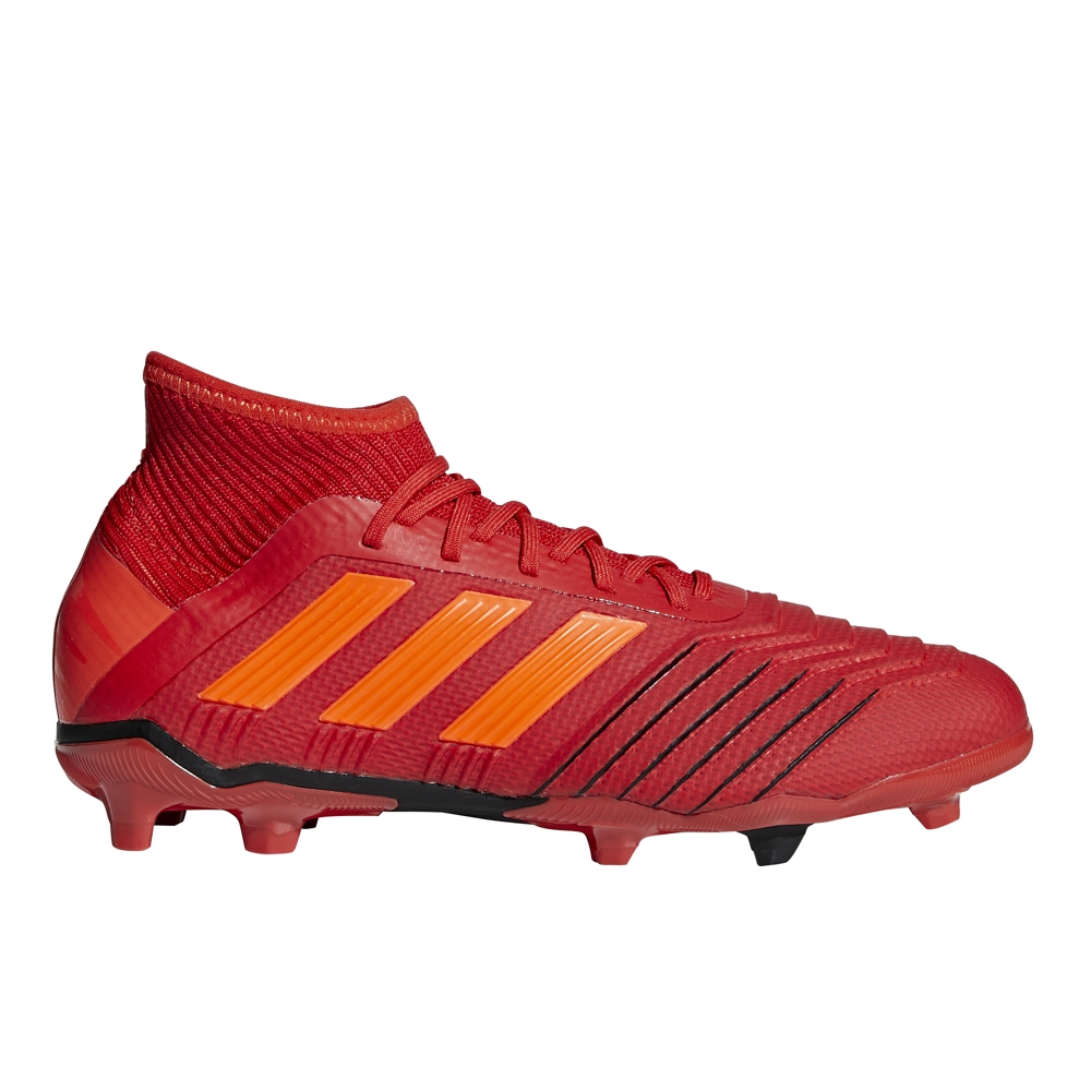 4551bd7eeffa Adidas Predator 19.1 Youth FG Soccer Cleats (Active Red Solar Red ...