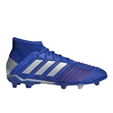 Adidas Predator 19.1 Youth FG Soccer Cleats (Bold Blue/Silver Metallic/Football Blue)