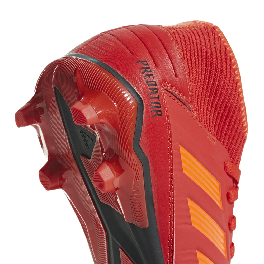 d0a70356d Adidas Predator 19.3 Youth FG Soccer Cleats (Active Red Solar Red Core Black )
