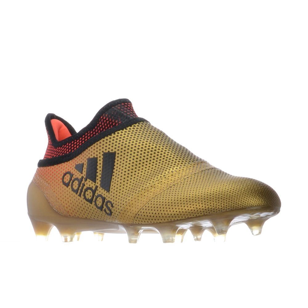 Adidas X 17+ PureSpeed Youth FG Soccer Cleats (Tactile Gold Metallic Core  Black Solar ... a45978a66
