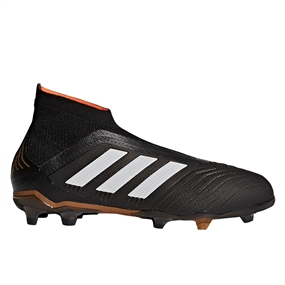Adidas Predator 18+ Youth FG Soccer Cleats (Core Black/White/Solar Red)