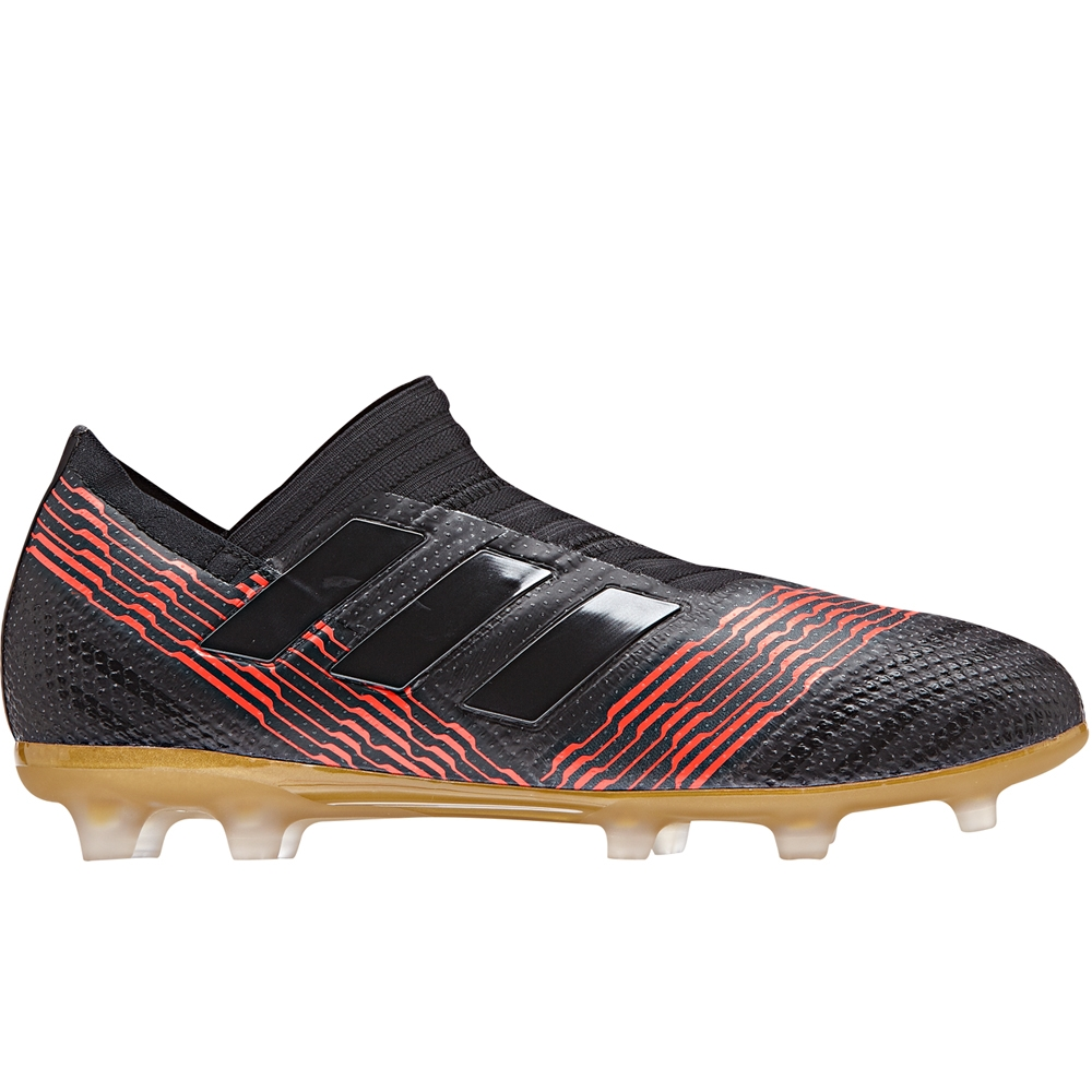 f7baef073886 Adidas Nemeziz 17+ 360Agility Youth FG Soccer Cleats (Core Black Solar Red)