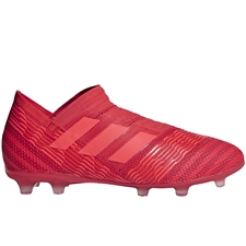 Adidas Nemeziz 17+ Youth FG Soccer Cleats (Real Coral/Red Zest) | Adidas CP9123