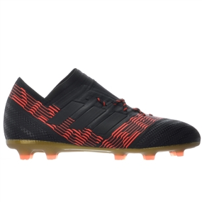 Adidas Nemeziz 17.1 Youth FG Soccer Cleats (Core Black/Solar Red) | SOCCERCORNER.COM