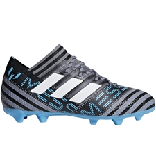 Adidas Nemeziz Messi 17.1 Youth FG Soccer Cleats (Grey/White/Core Black) | Adidas CP9159