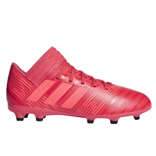 Adidas Nemeziz 17.3 Youth FG Soccer Cleats (Real Coral/Red Zest) | Adidas CP9166