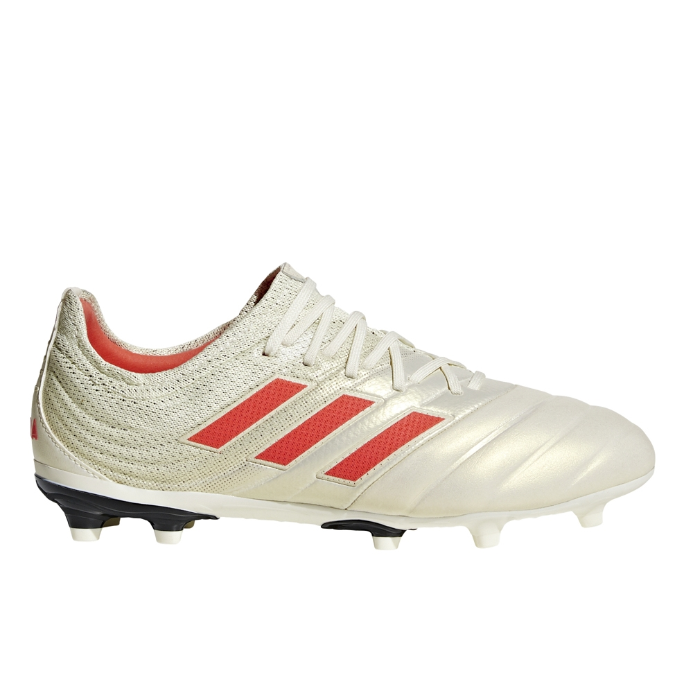 e5ae83c46ea7 Adidas Copa 19.1 Youth FG Soccer Cleats (Off White/Solar Red/Core ...