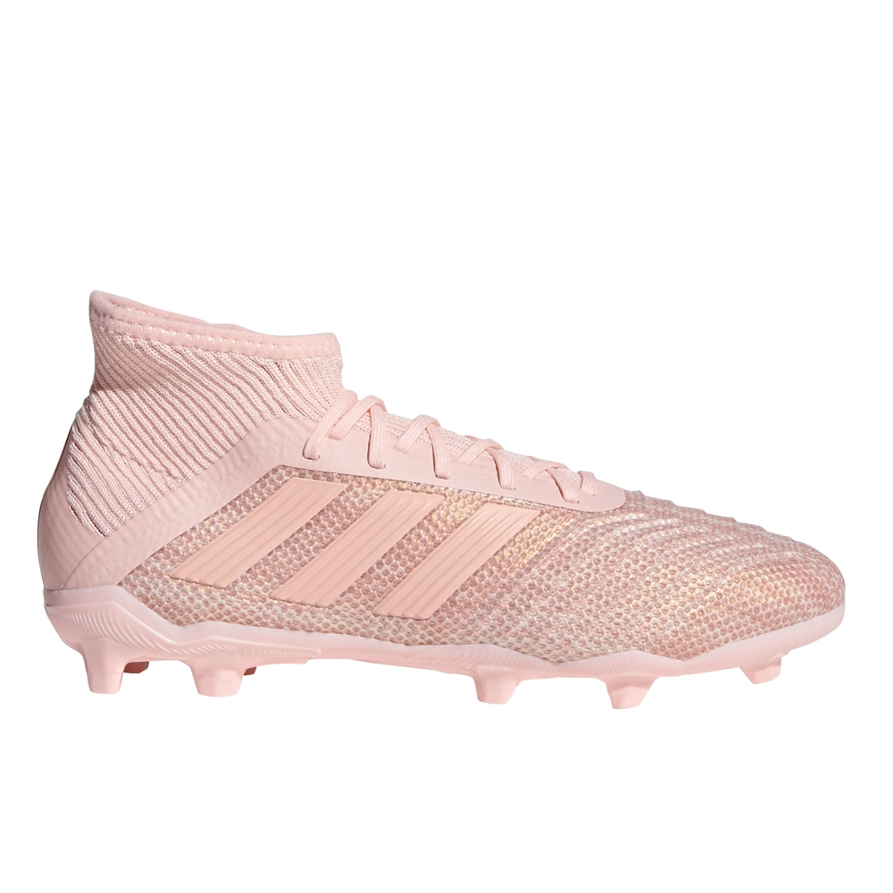 e3fa4a7f6534 Adidas Predator 18.1 Youth FG Soccer Cleats (Clear Orange/Trace Pink ...