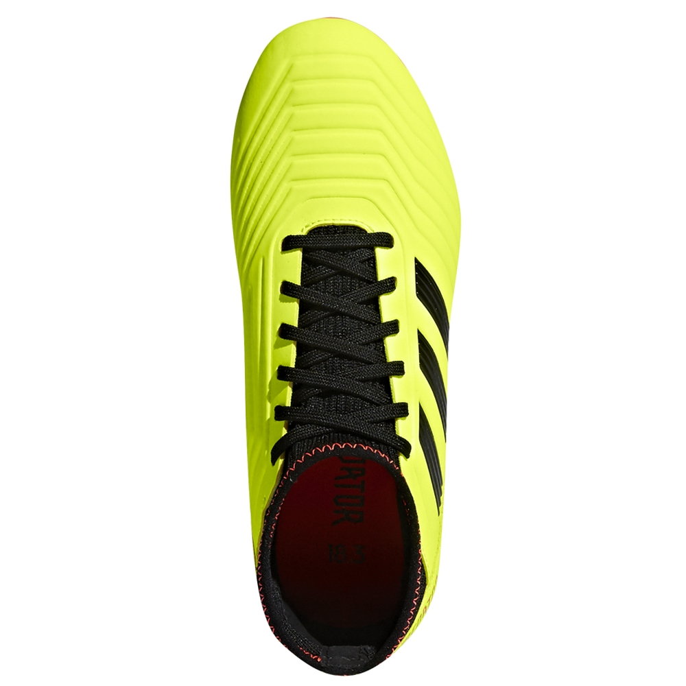 info for 2b12a 7dafe Adidas Predator 18.3 Youth FG Soccer Cleats (Solar Yellow Core Black Solar  ...