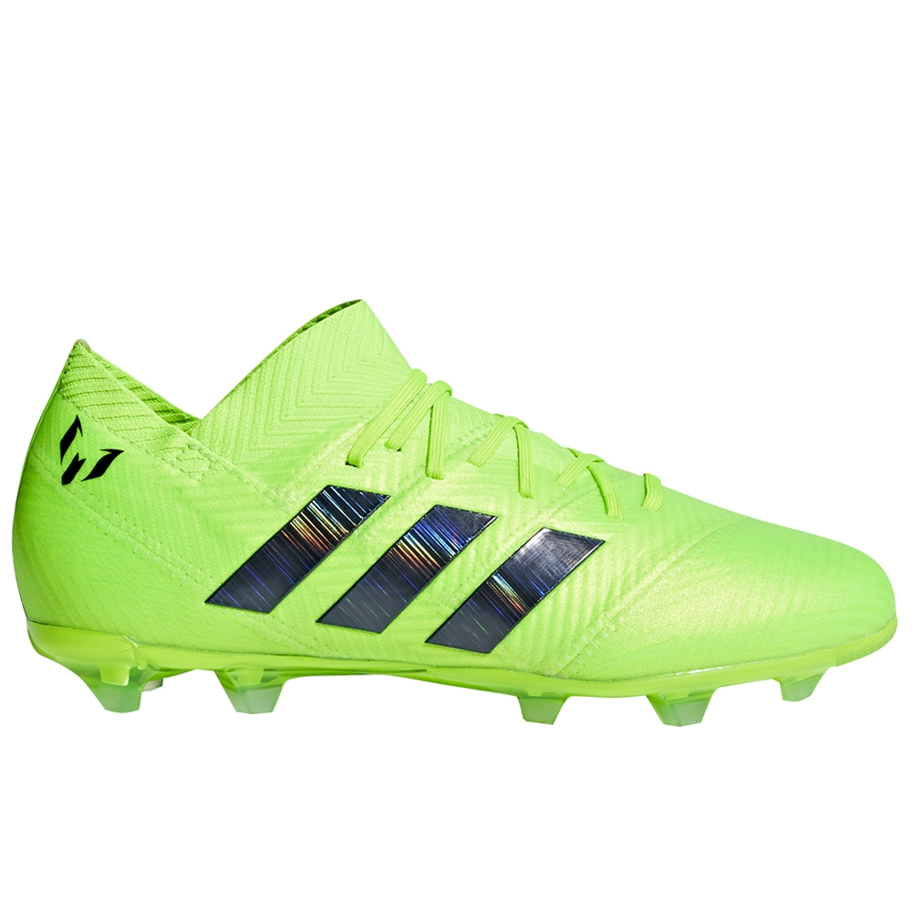 27522d5c0 Adidas Nemeziz Messi 18.1 Youth FG Soccer Cleats (Solar Green/Core Black)