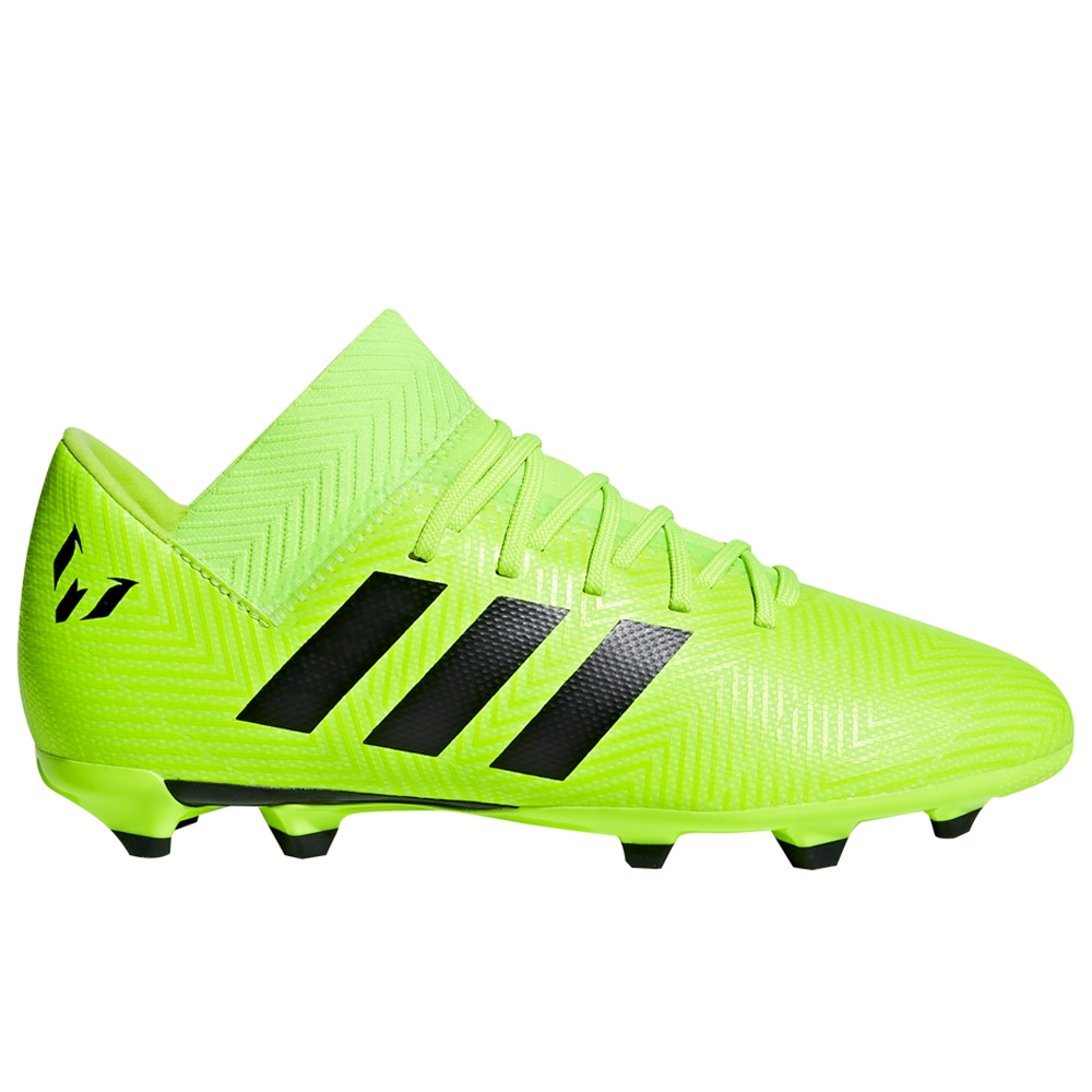 bd3da77d4c Adidas Nemeziz Messi 18.3 Youth FG Soccer Cleats (Solar Green Core Black)