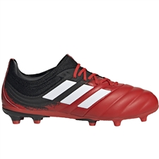 Adidas Youth Copa 20.1 FG Soccer Cleats (Active Red/White/Core Black)