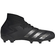 Adidas Youth Predator Mutator 20.1 FG Soccer Cleats (Core Black/Night Metallic)