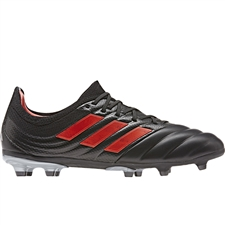 Adidas Copa 19.1 Youth FG Soccer Cleats (Core Black)